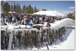 The Mountaintop Picnic - always one of the most popular events at the Taste of Vail